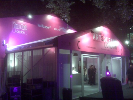 Pavilion art fair